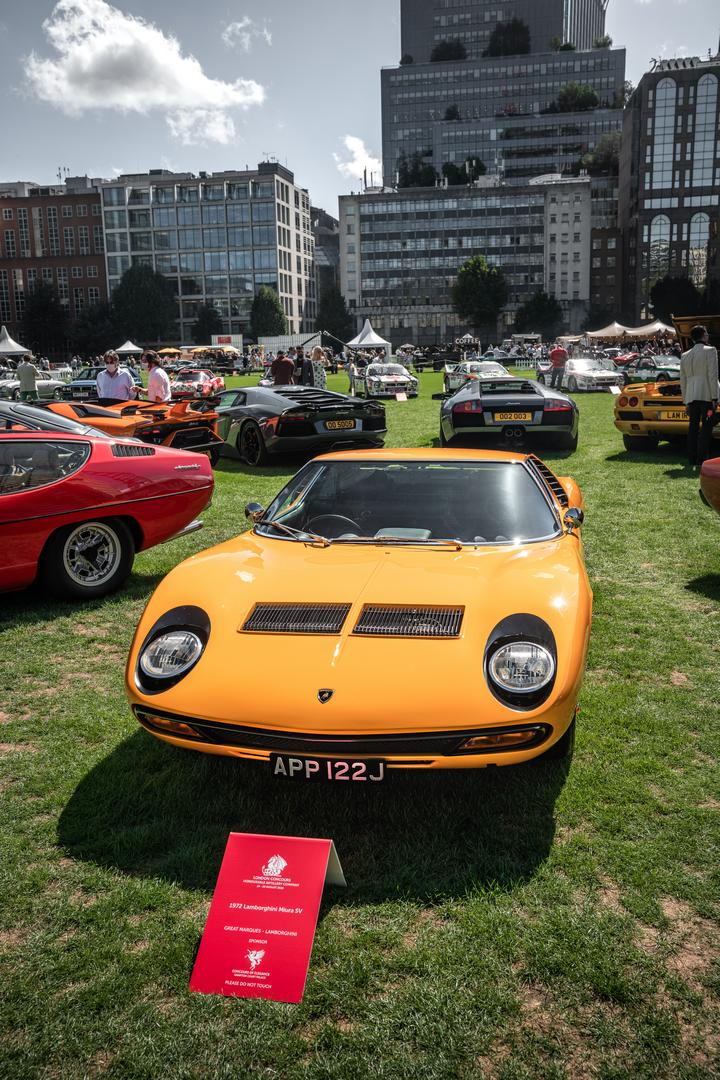 London Concours Lamborghini Miura