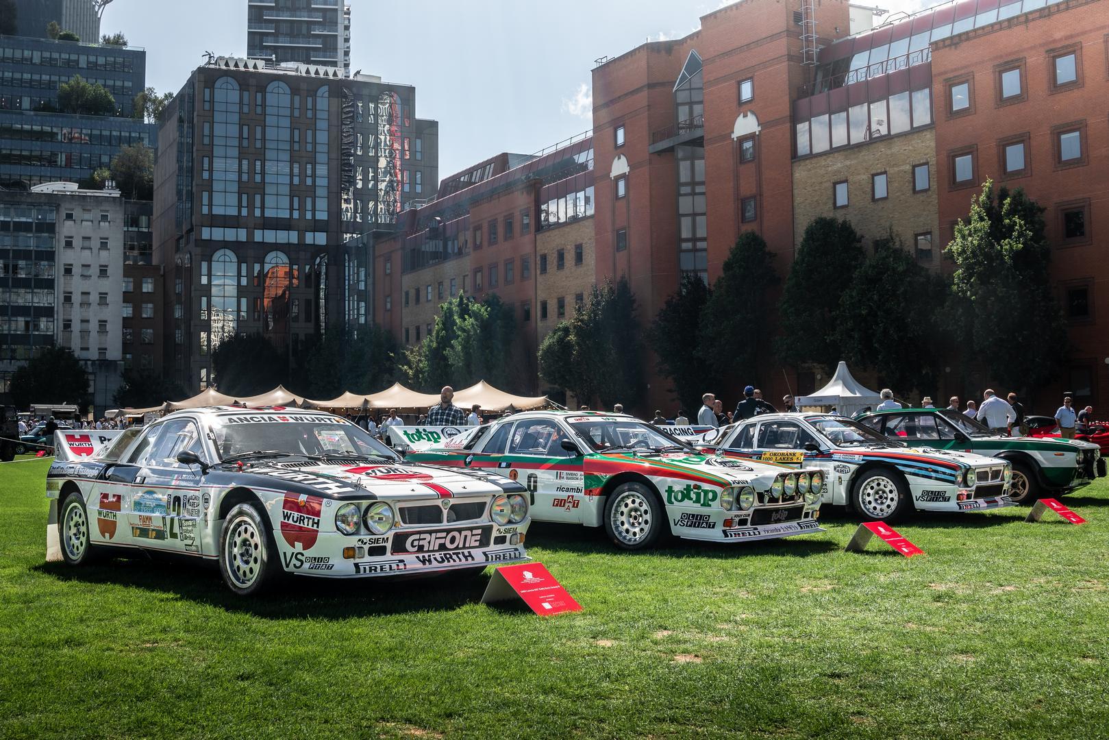 London Concours Lancia