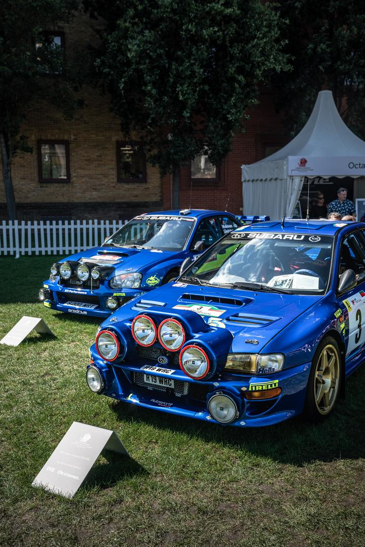 London Concours Subaru Rally Cars