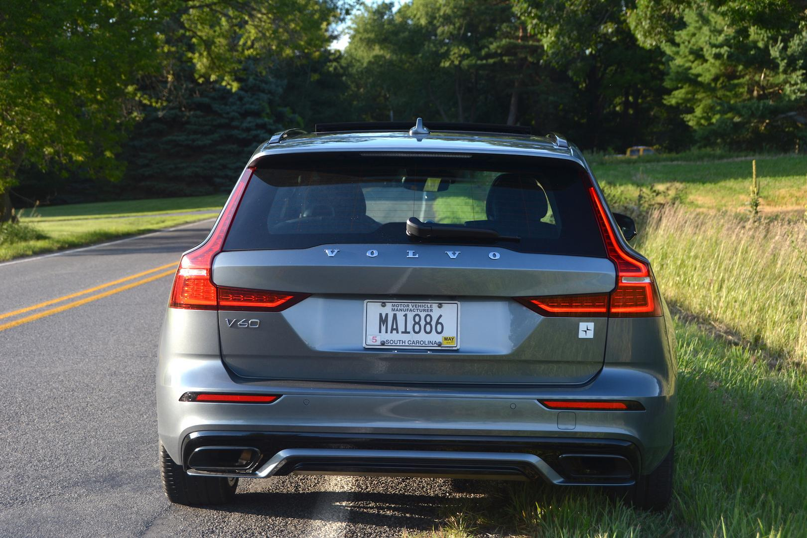 Volvo V60 T8 Polestar Rear