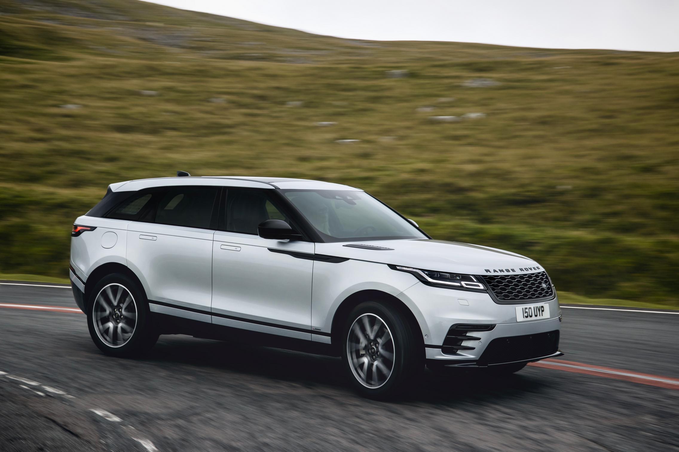 2021 Range Rover Velar Silver