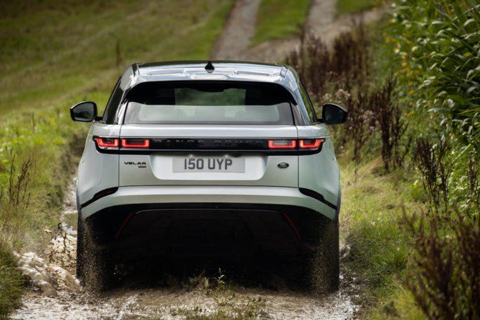 2021 Range Rover Velar Rear