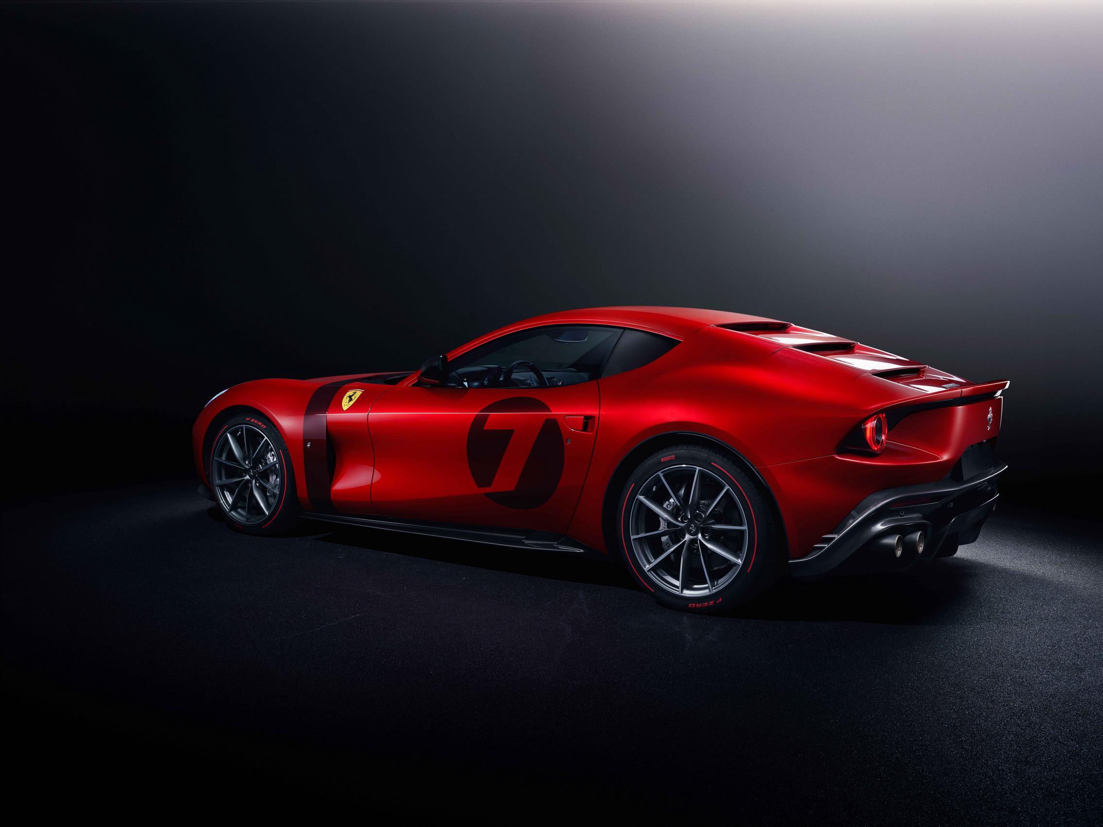 Ferrari Omologata rear