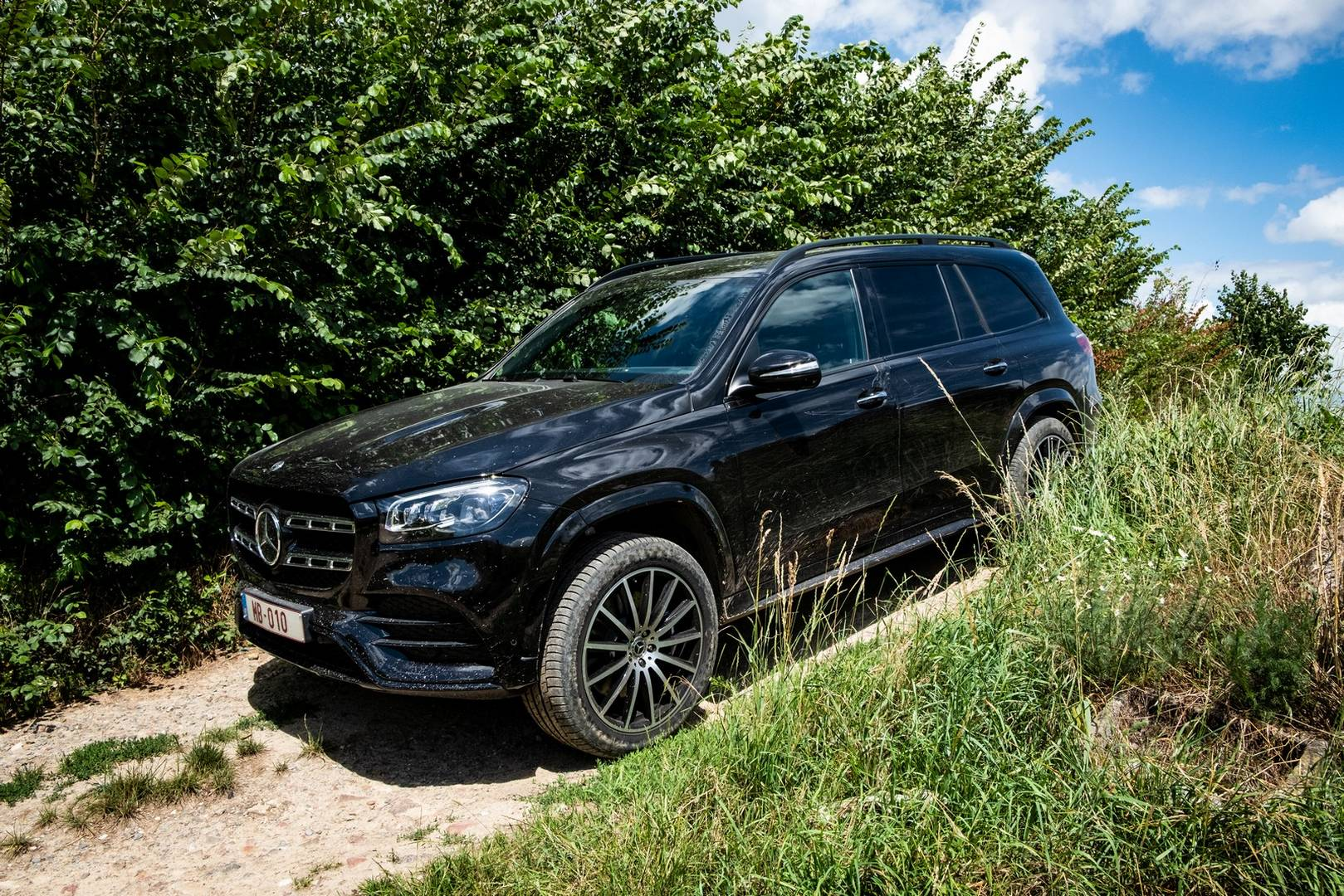 2020 Mercedes-Benz GLS 400d Off-road
