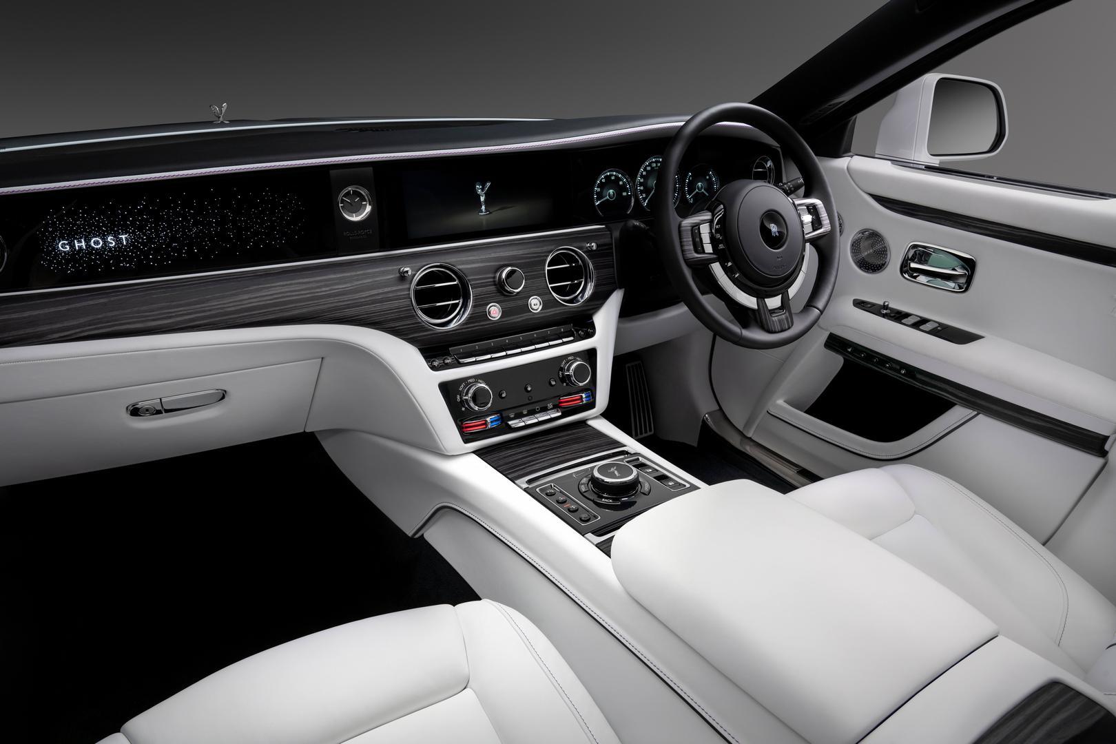 2021 Rolls-Royce Ghost Cabin