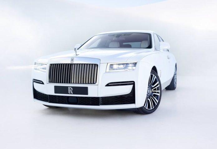 2021 Rolls-Royce Ghost Front