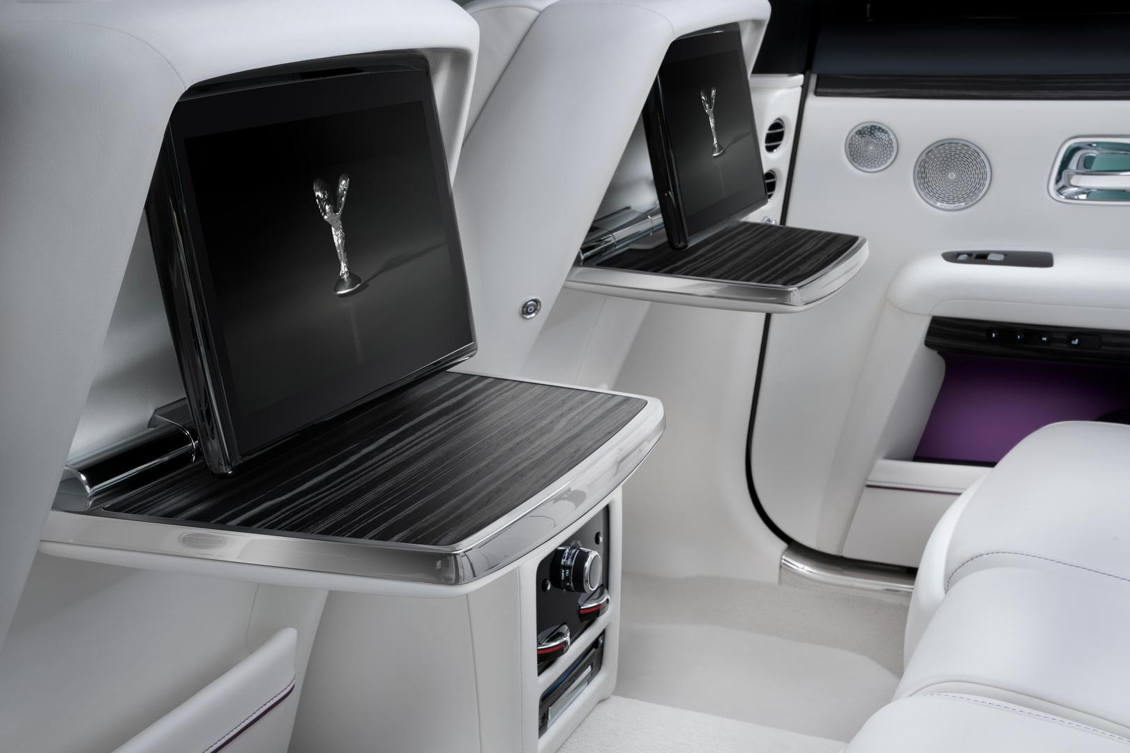2021 Rolls-Royce Ghost Rear Seats