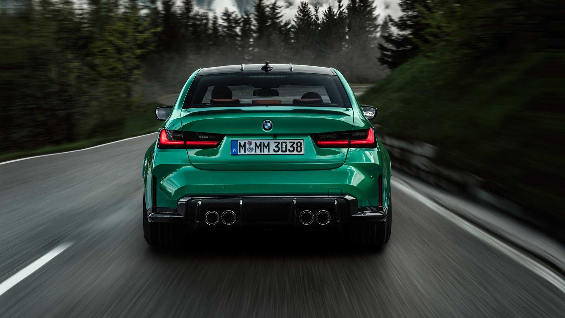 2021 BMW M3 Rear Lights