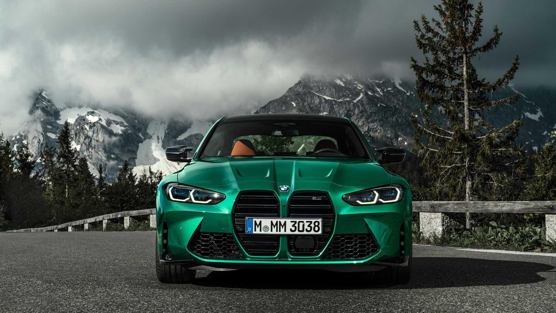 2021 BMW M3 Front