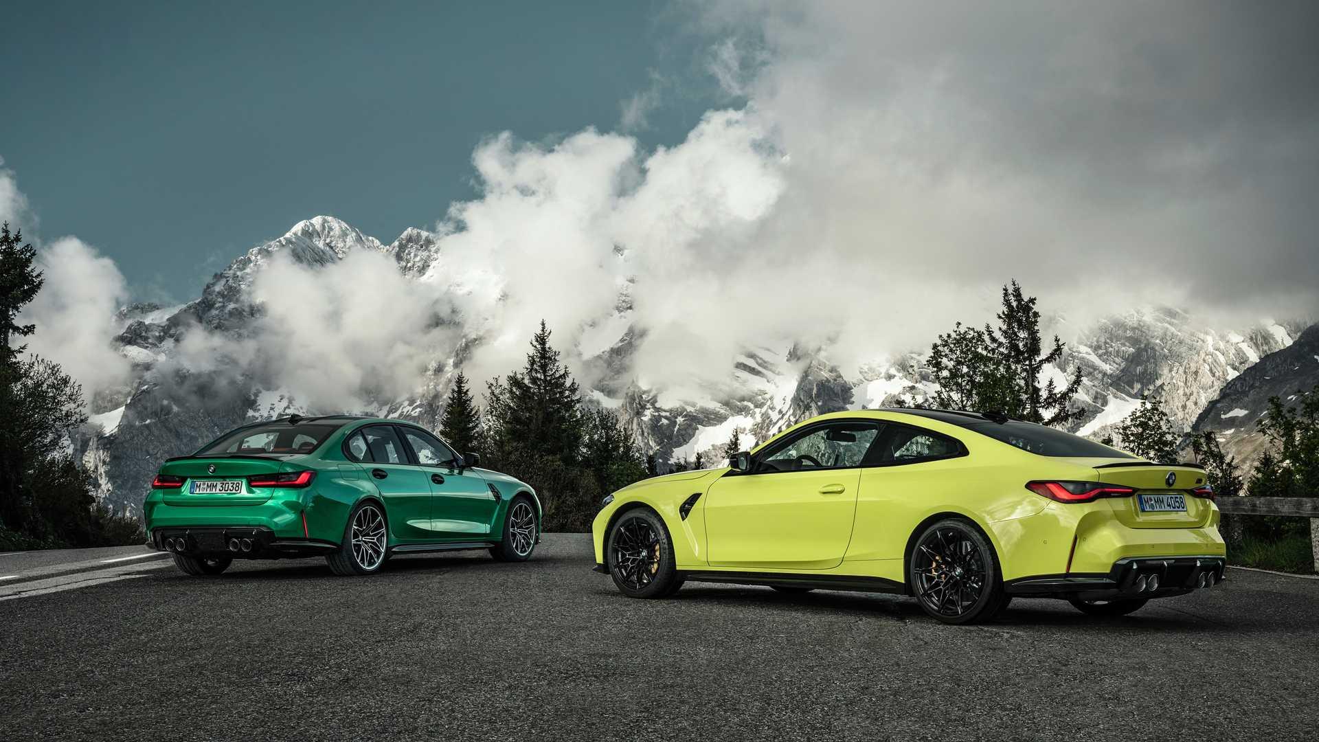 2021 BMW M3 vs M4