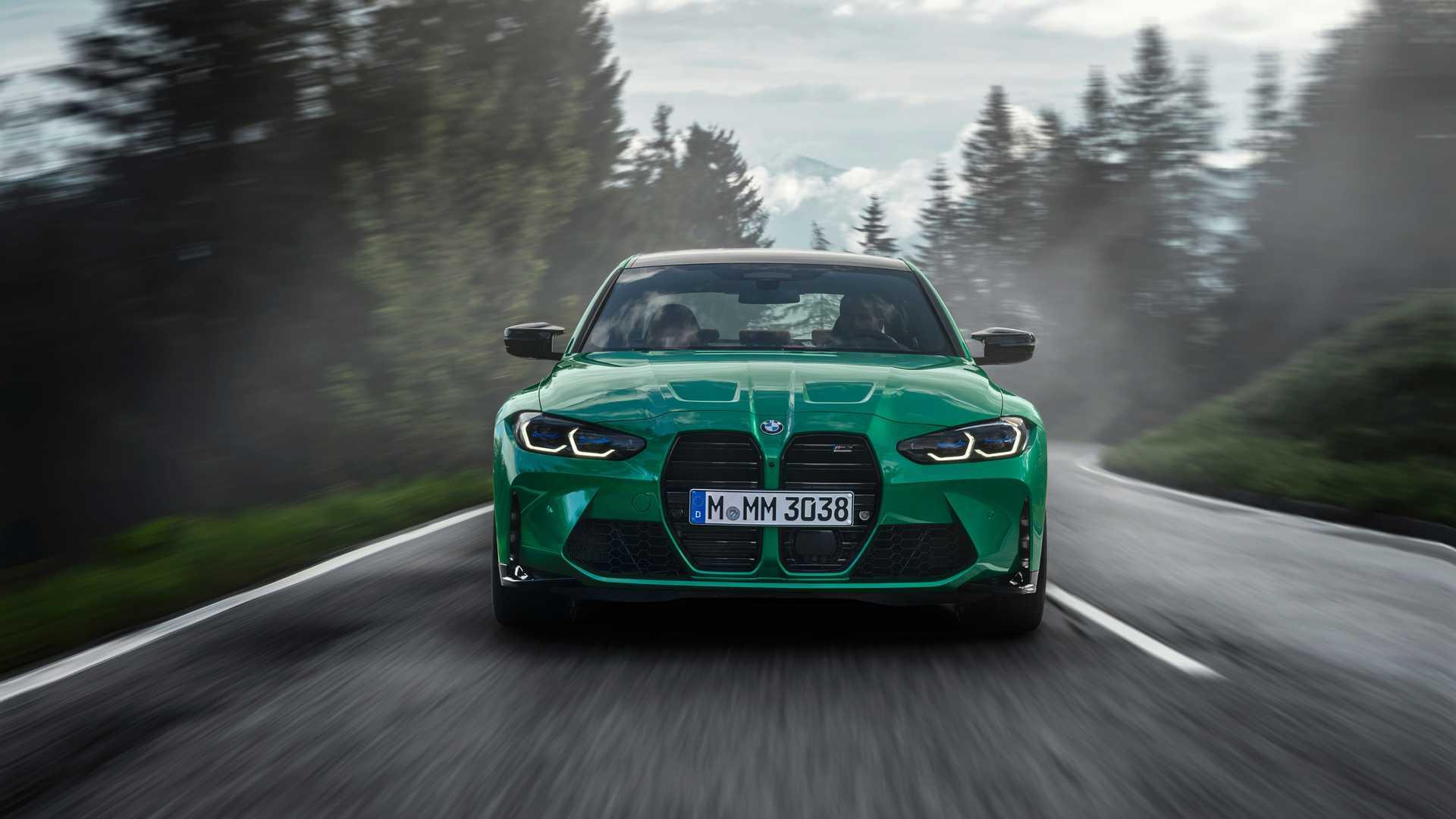 2021 BMW M3 Grille