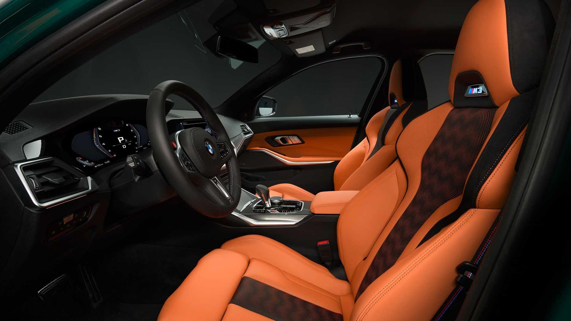 2021 BMW M3 Seats