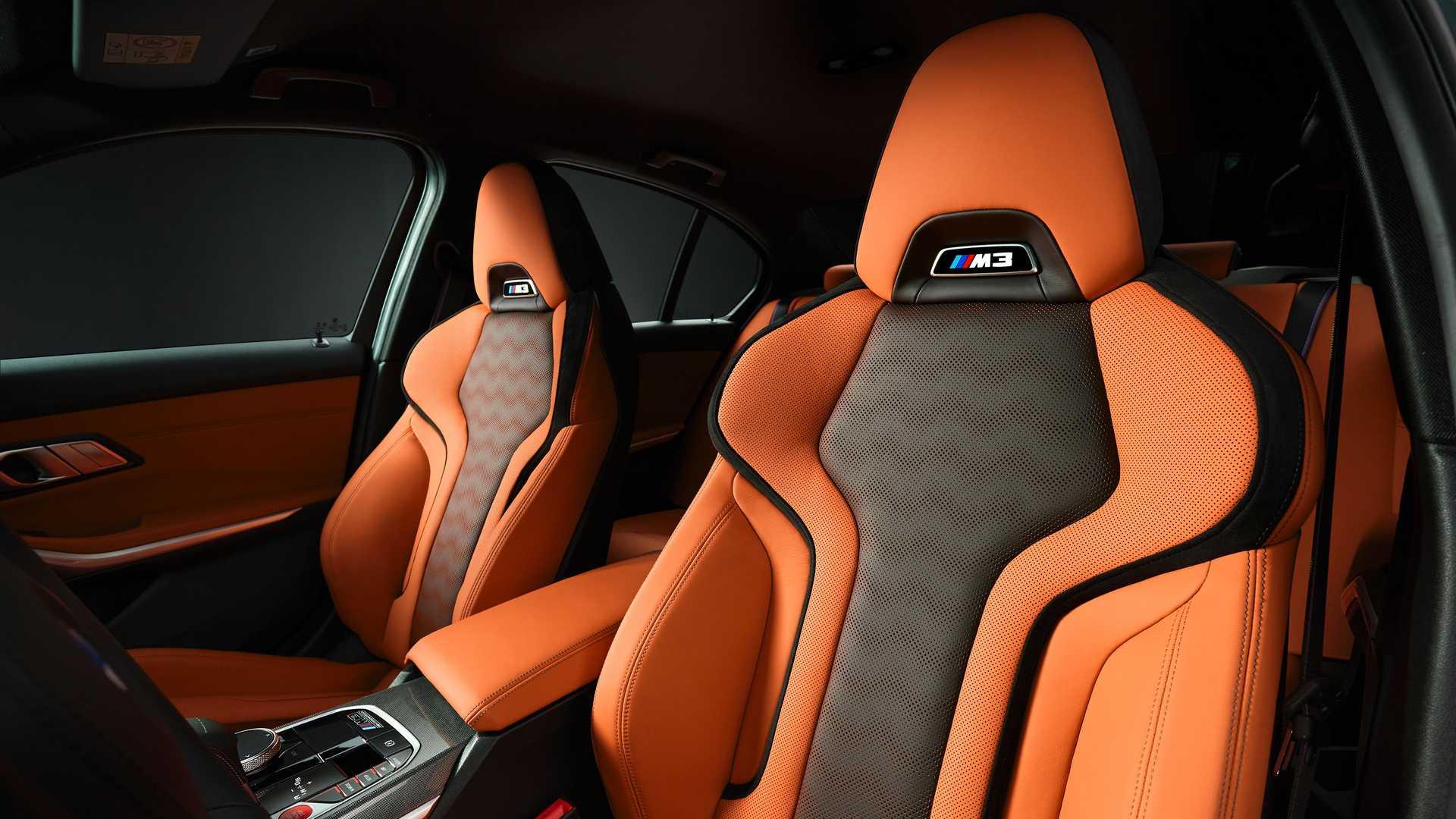2021 BMW M3 Cabin