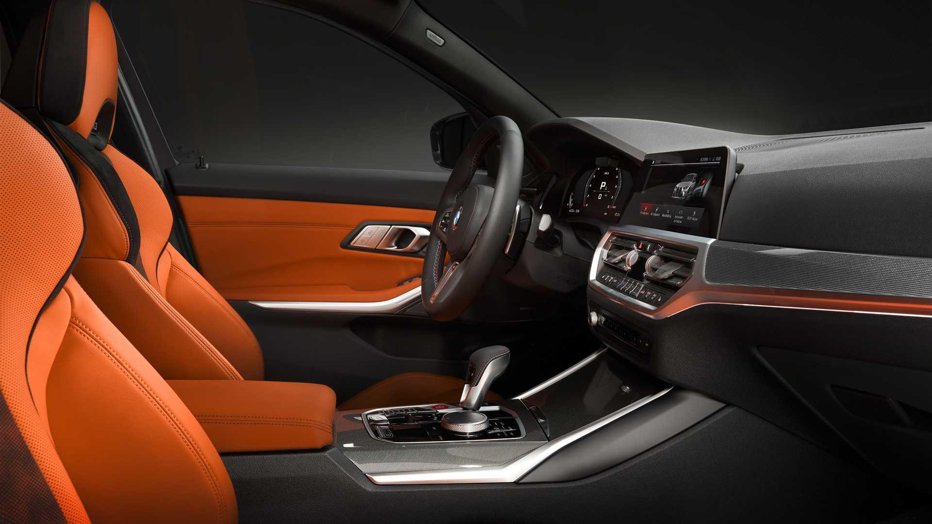 2021 BMW M3 Center Console