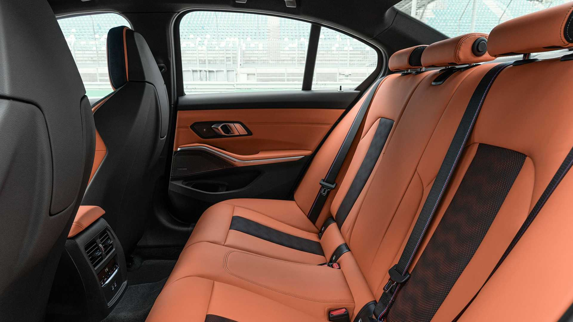 2021 BMW M3 Rear Seats