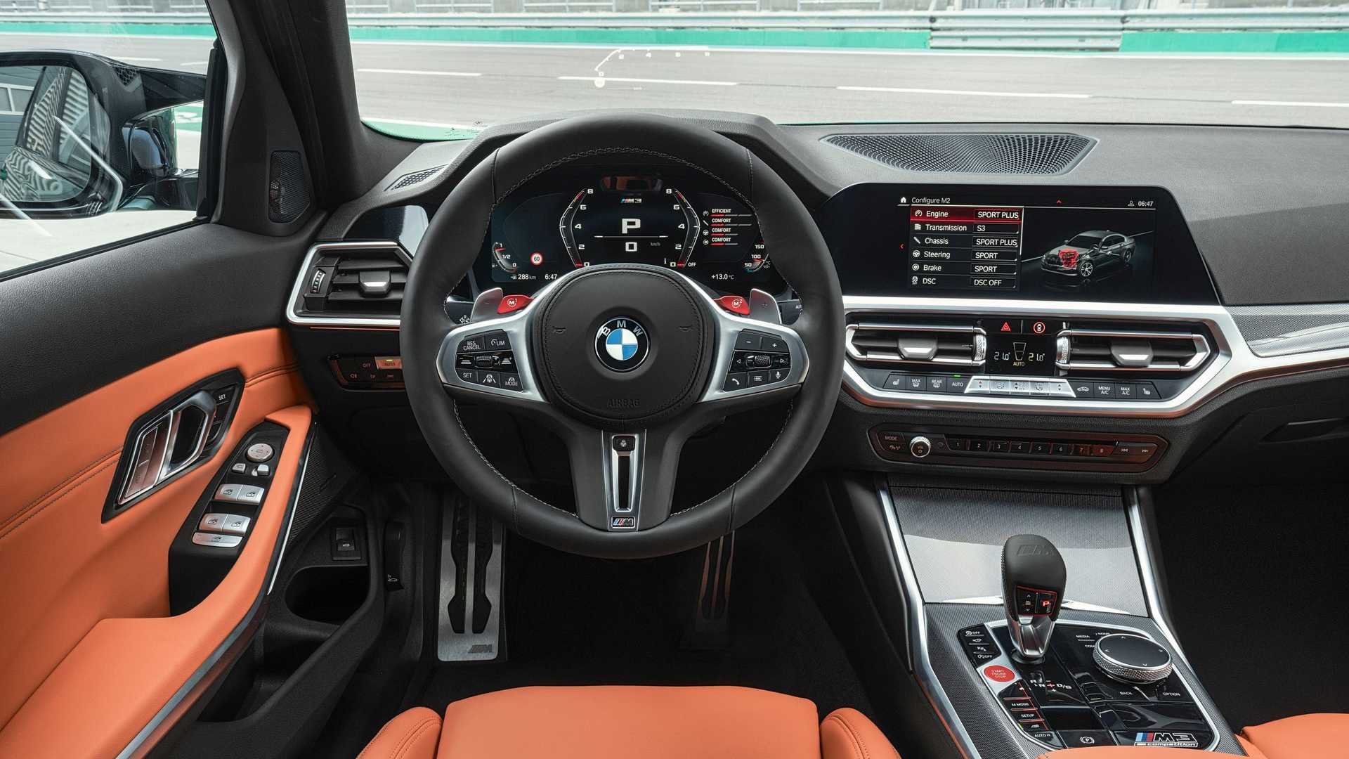 2021 BMW M3 Steering Wheel