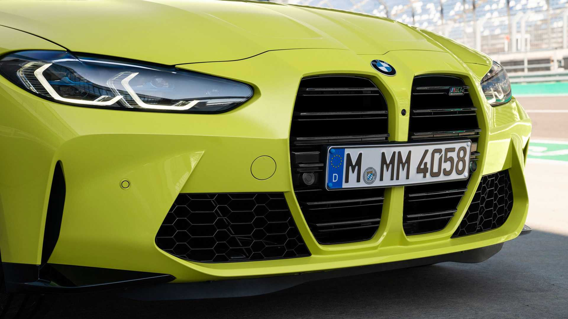 2021 BMW M4 Front Grille