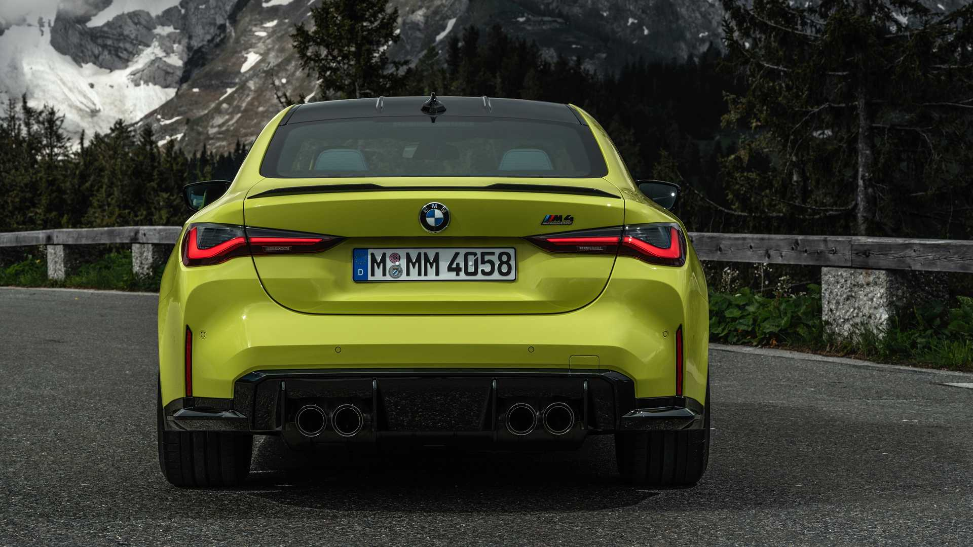 2021 BMW M4 Rear Lights