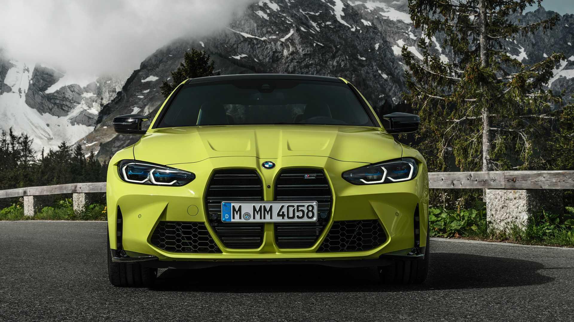 2021 BMW M4 Front