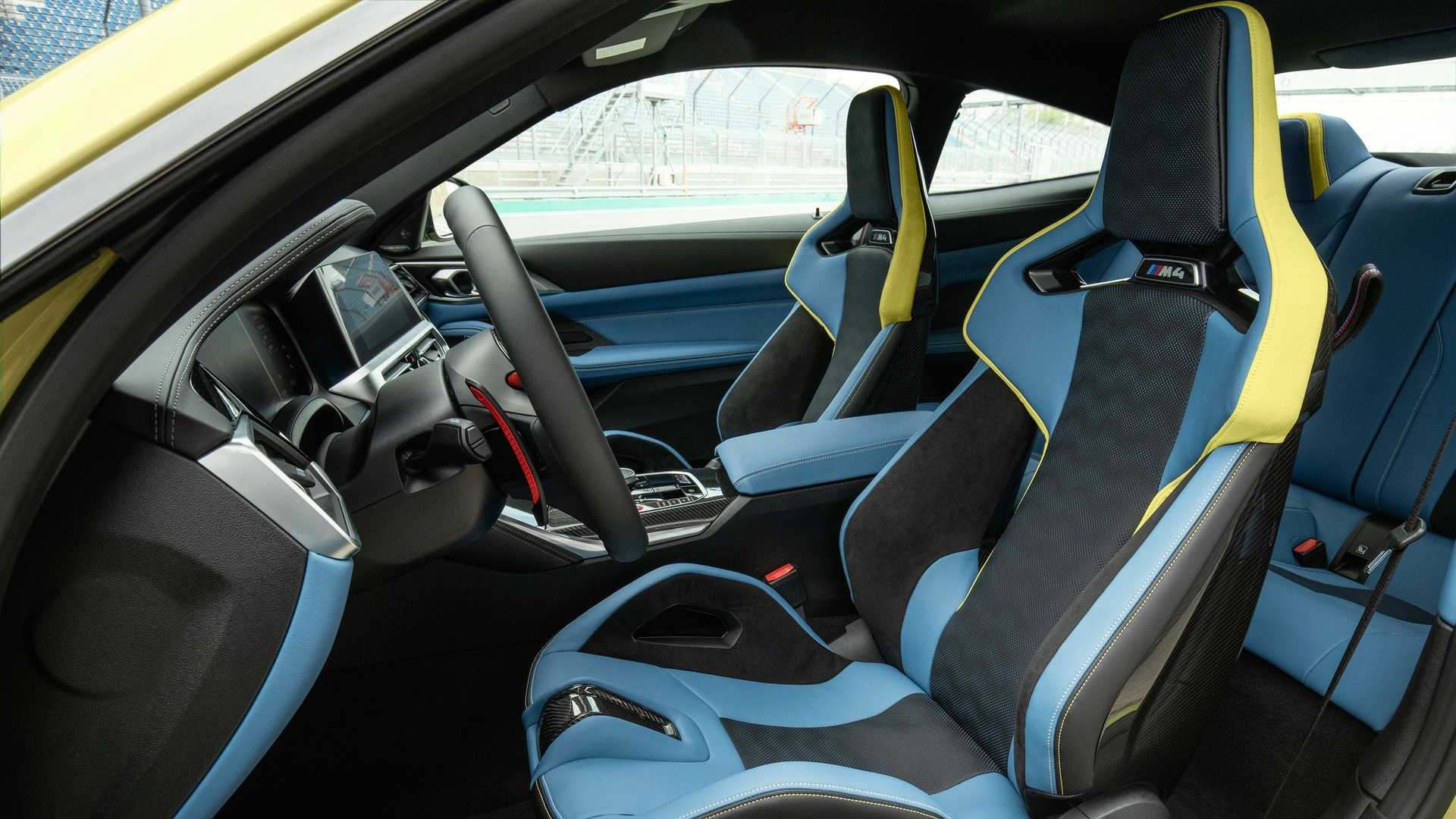 2021 BMW M4 Seats