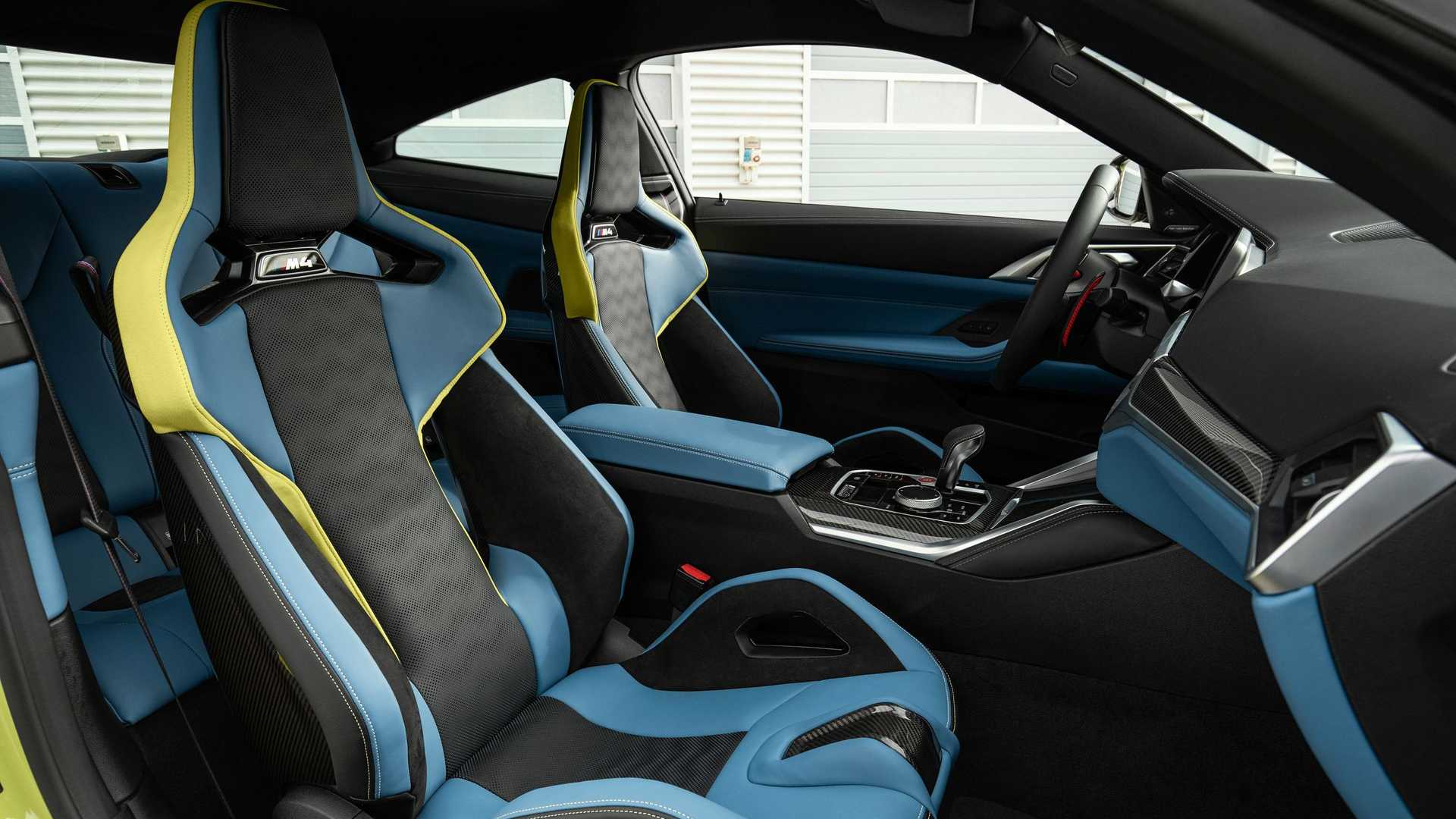 2021 BMW M4 Cabin