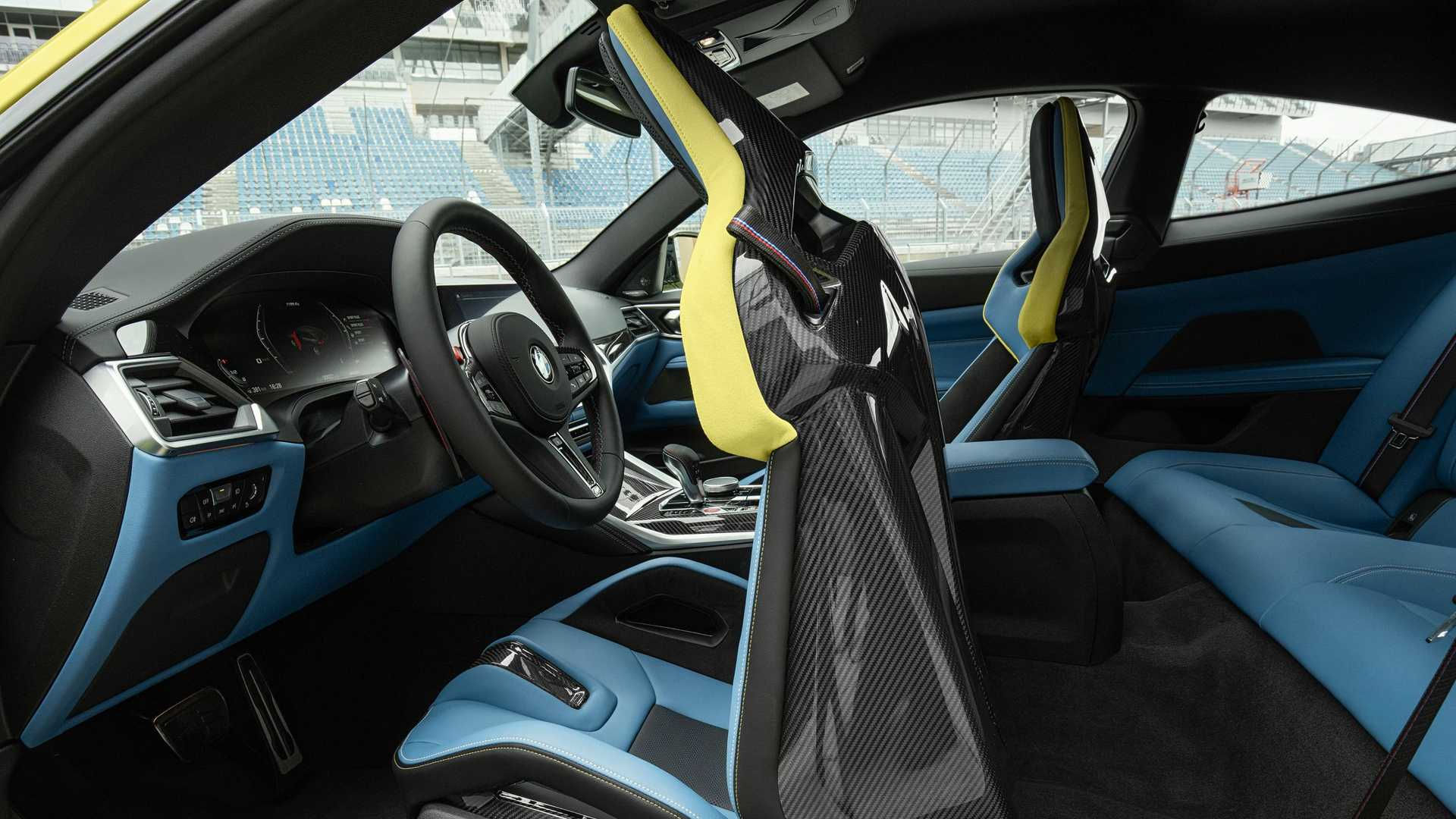 2021 BMW M4 Carbon Seats
