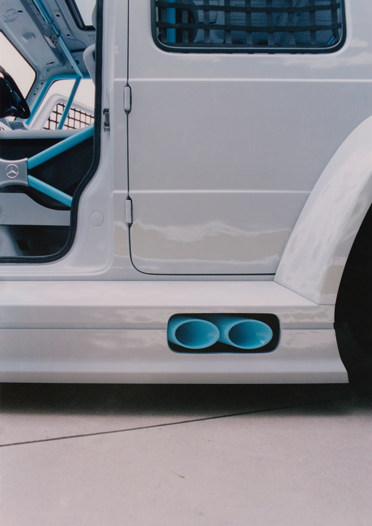 Mercedes-Benz G-Wagon Side Pipes