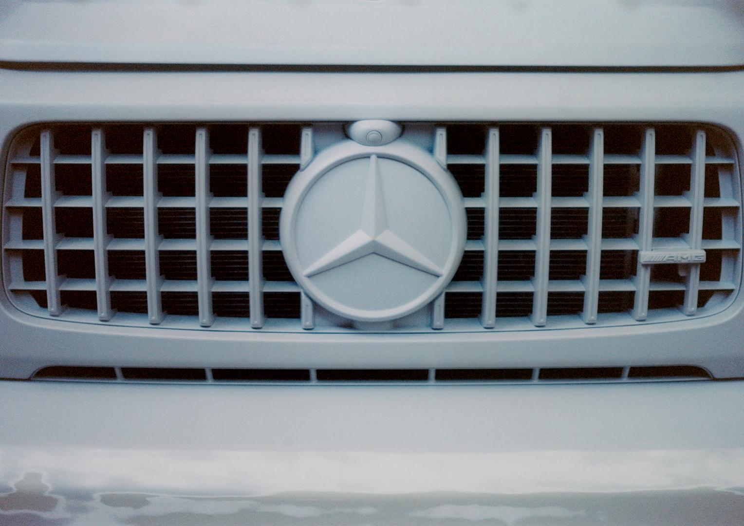 Mercedes-Benz G-Wagon Emblem