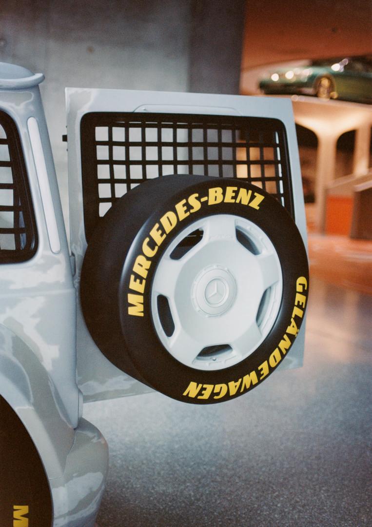 Mercedes-Benz G-Wagon Spare Wheel