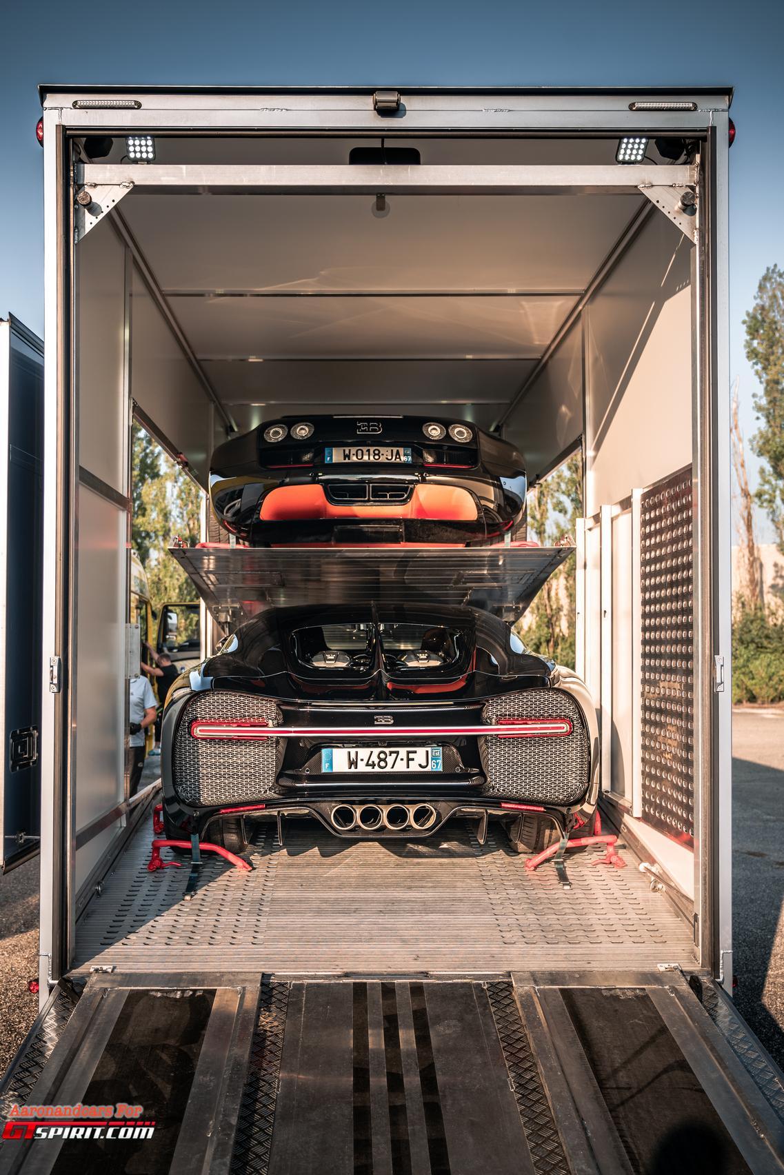 Bugatti Veyron and Chiron