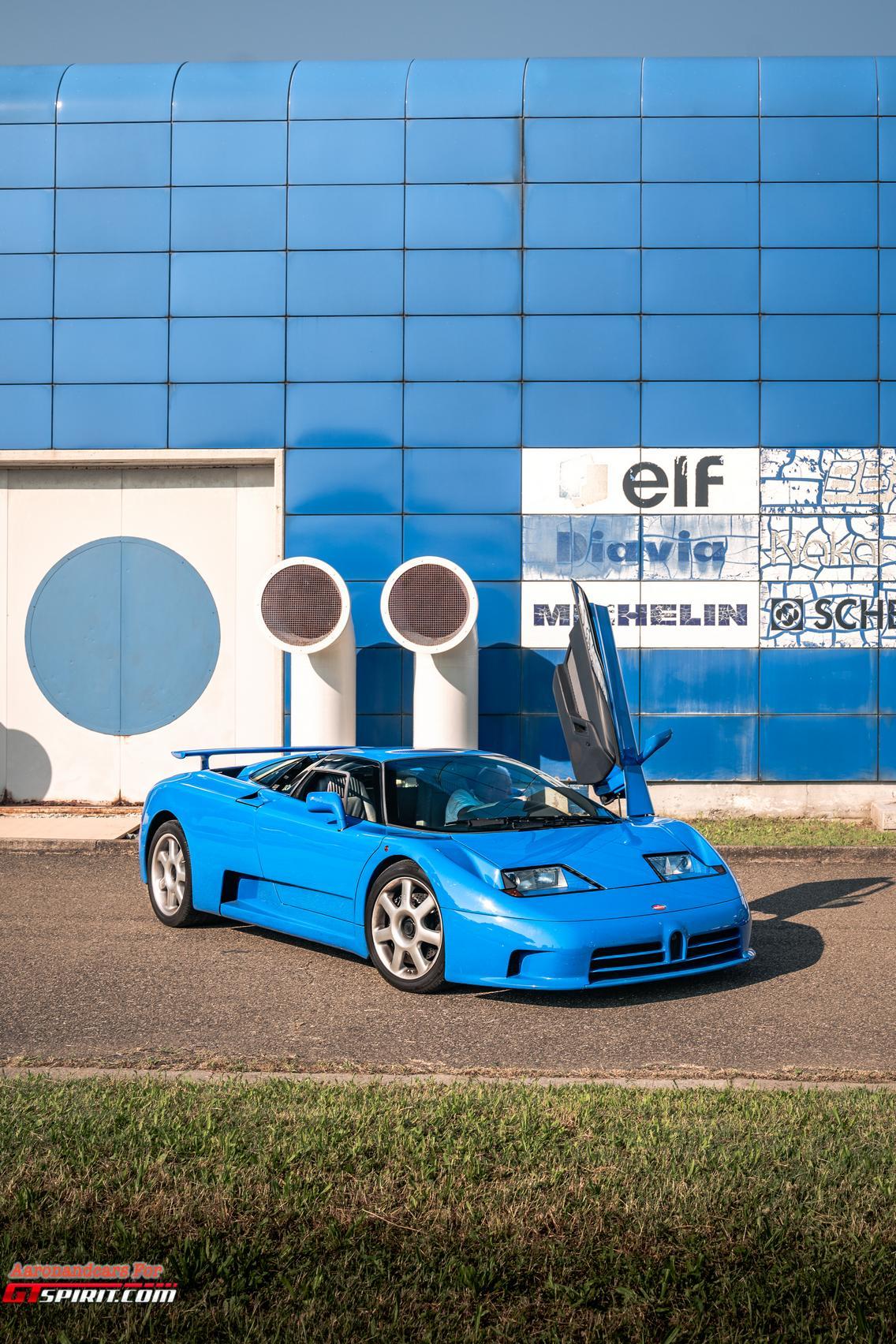 Bugatti EB110 Phone Wallpaper