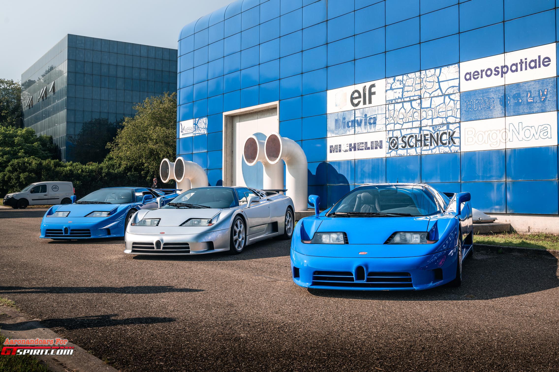 Bugatti EB110 Wallpaper