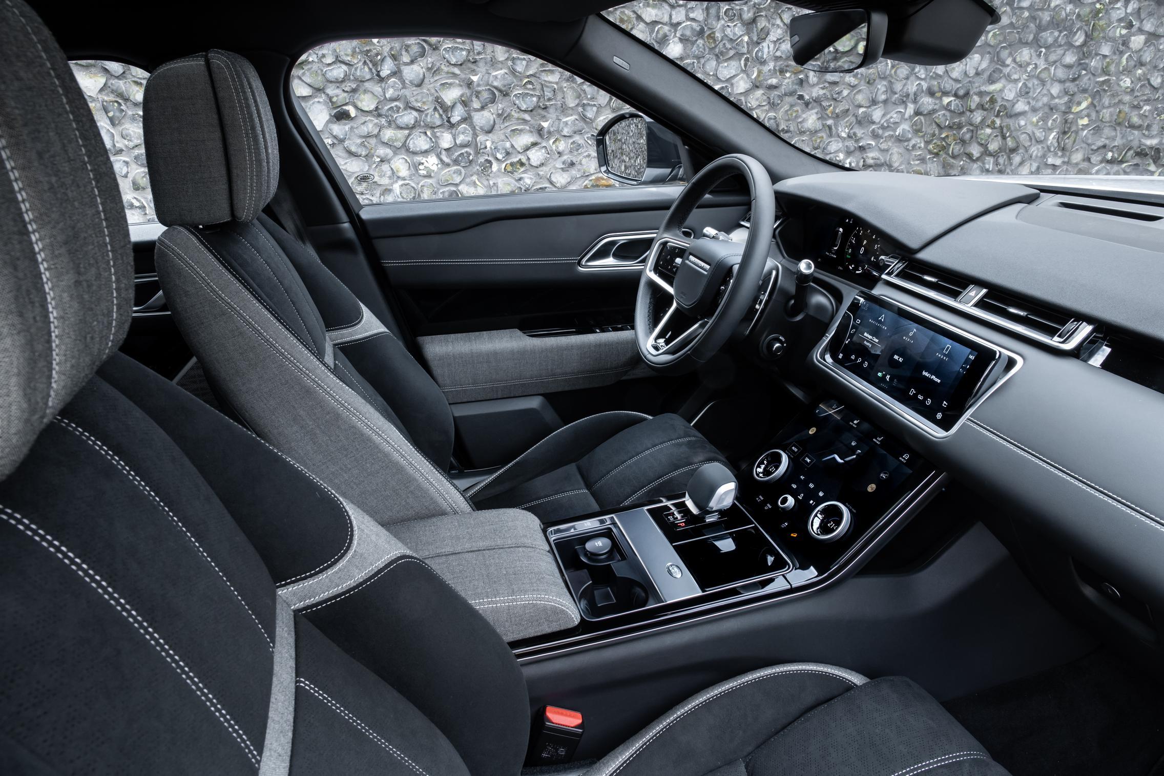 2021 Range Rover Velar Seats
