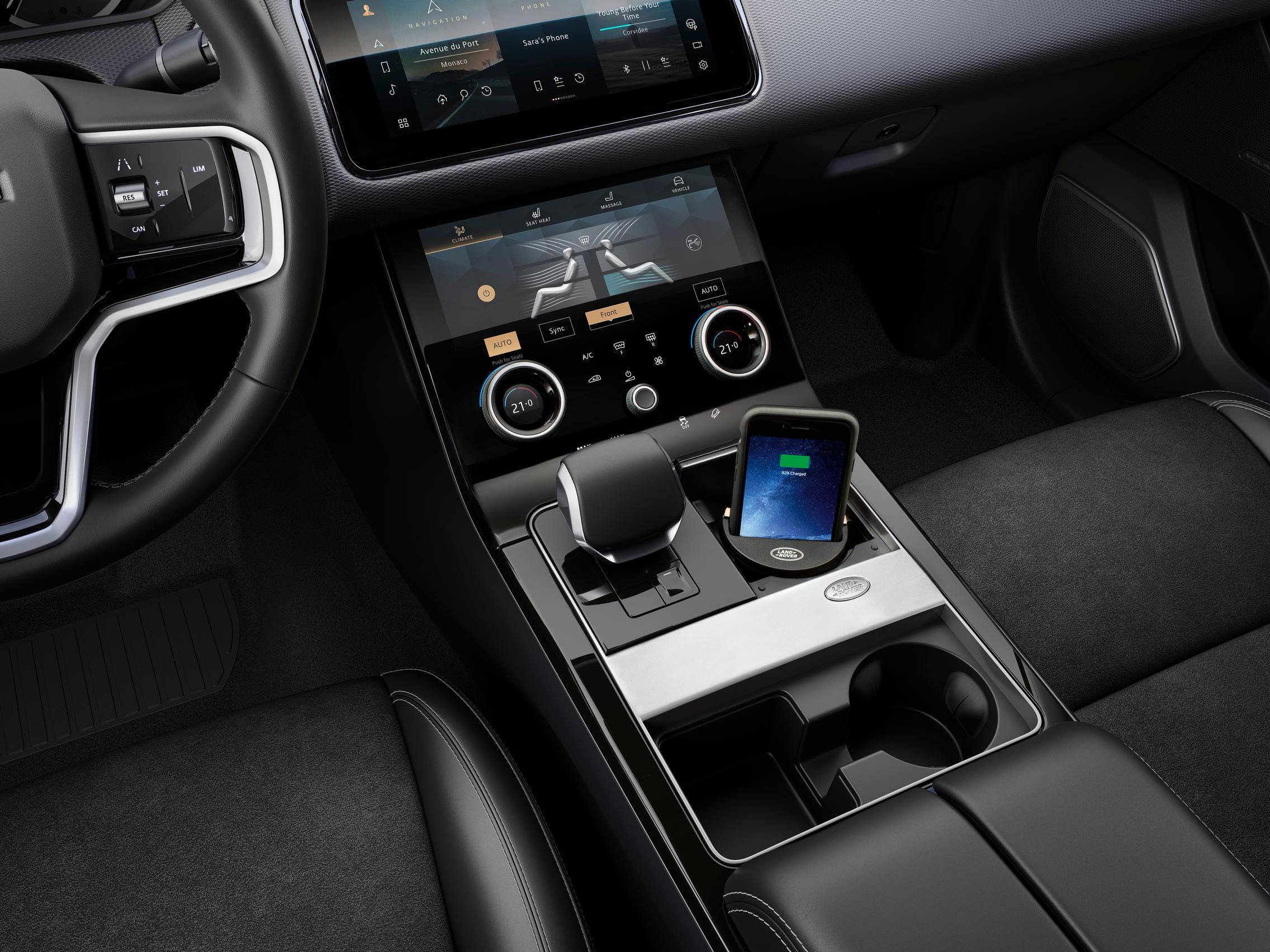 2021 Range Rover Velar Center Console