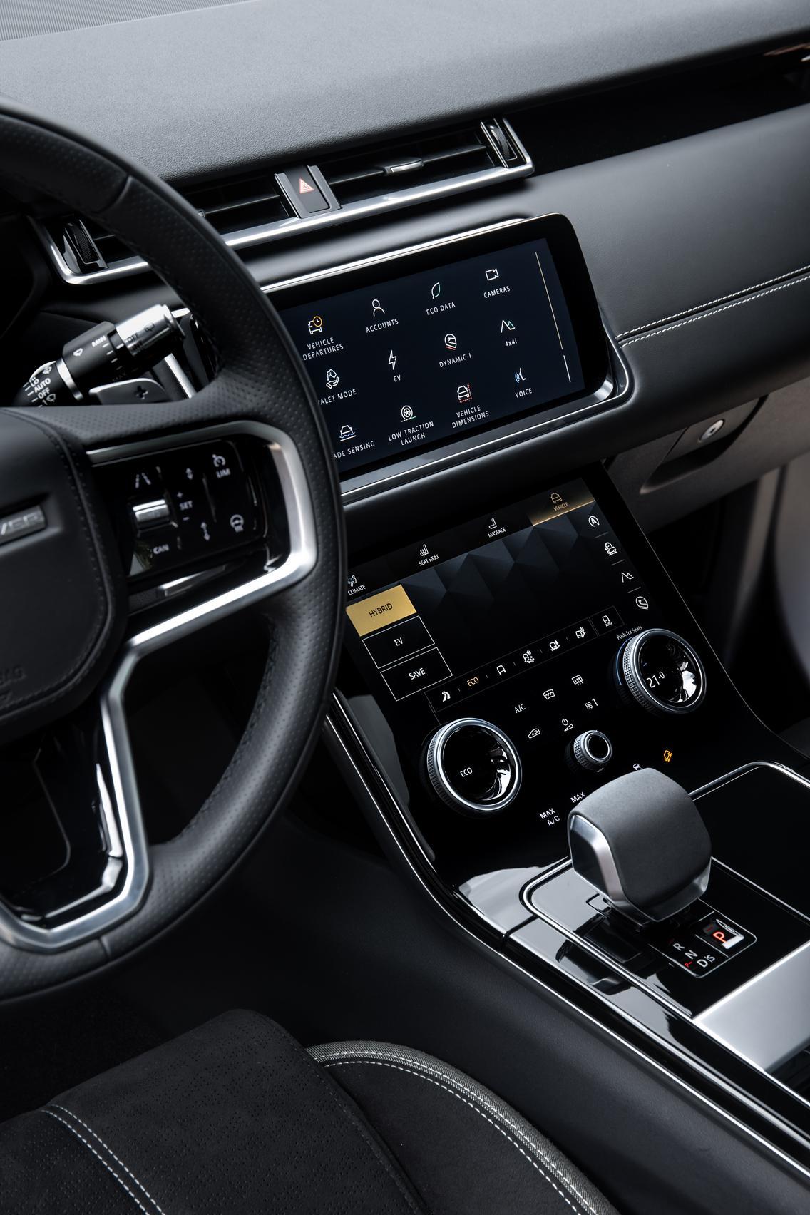 2021 Range Rover Steering Wheel