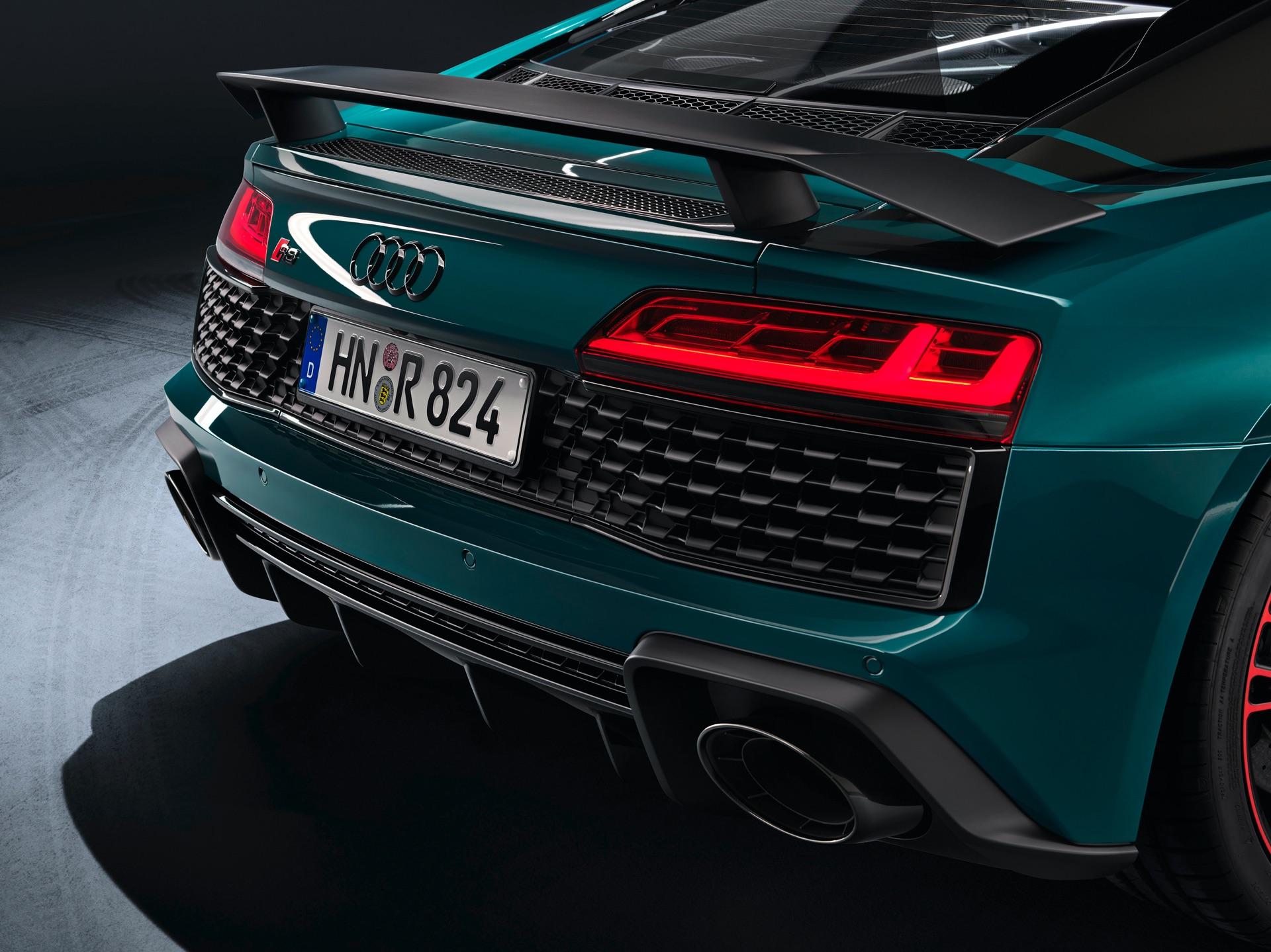 Audi R8 Green Hell Spoiler