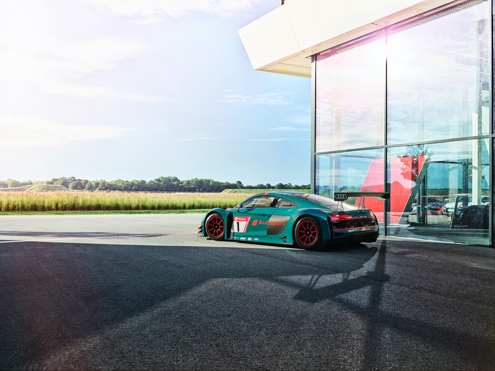 Audi R8 LMS Audi R8 Green Hell