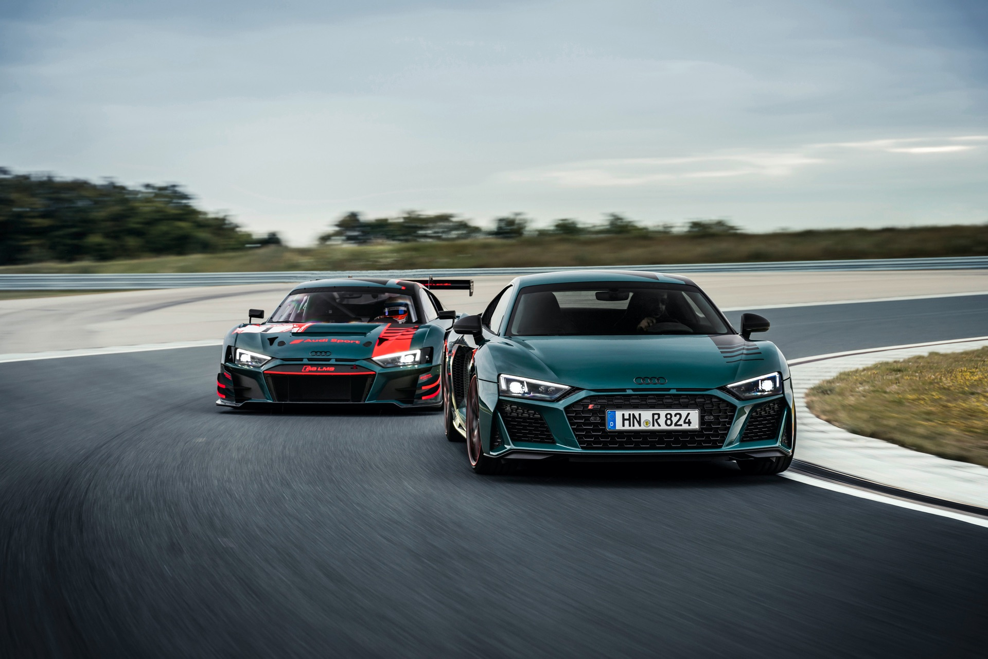 Audi R8 Green Hell and R8 LMS