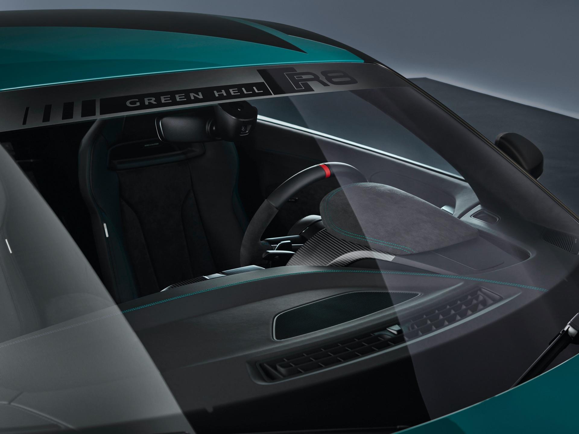 Audi R8 Green Hell Dash