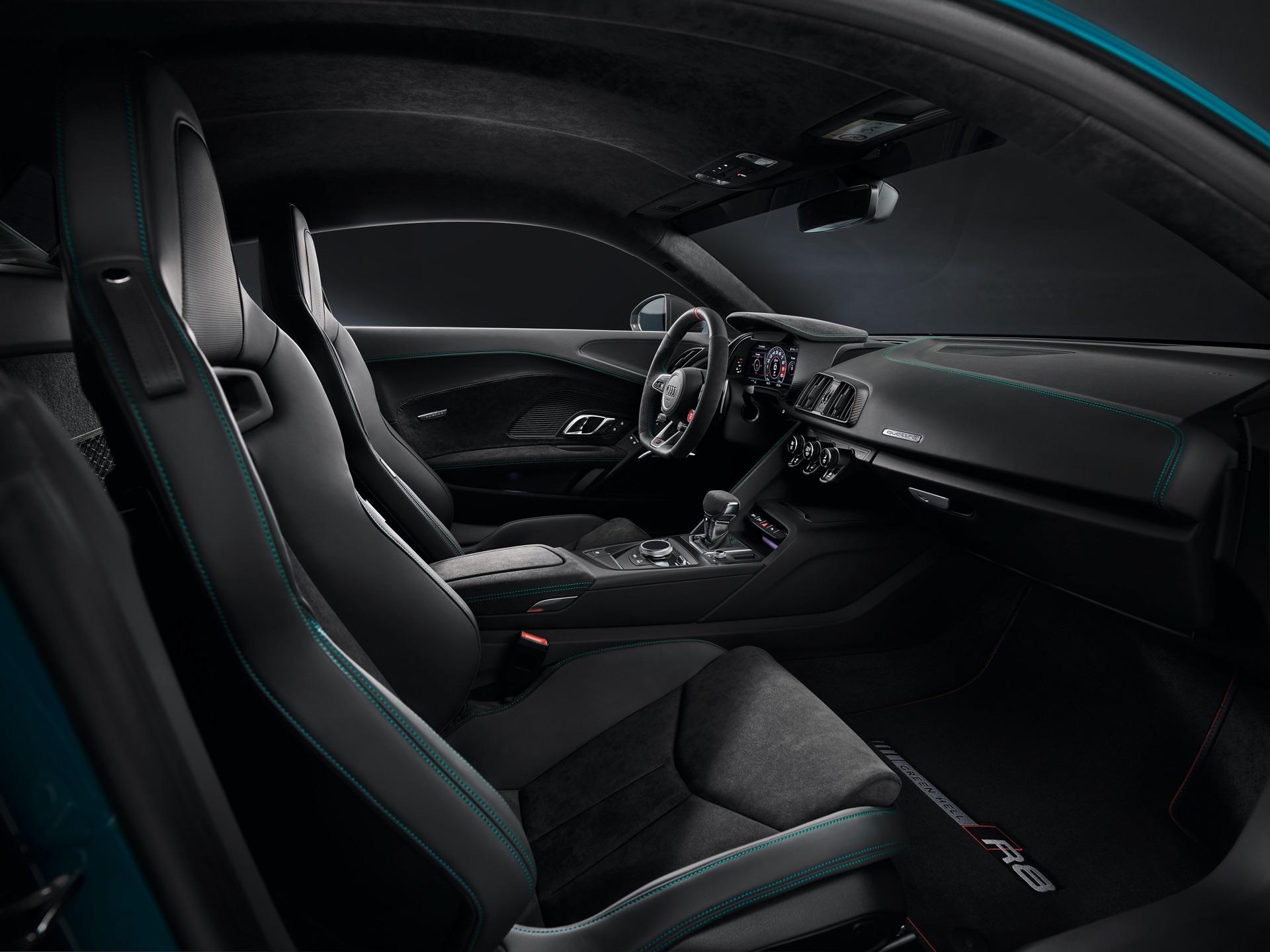 Audi R8 Green Hell Passenger Side