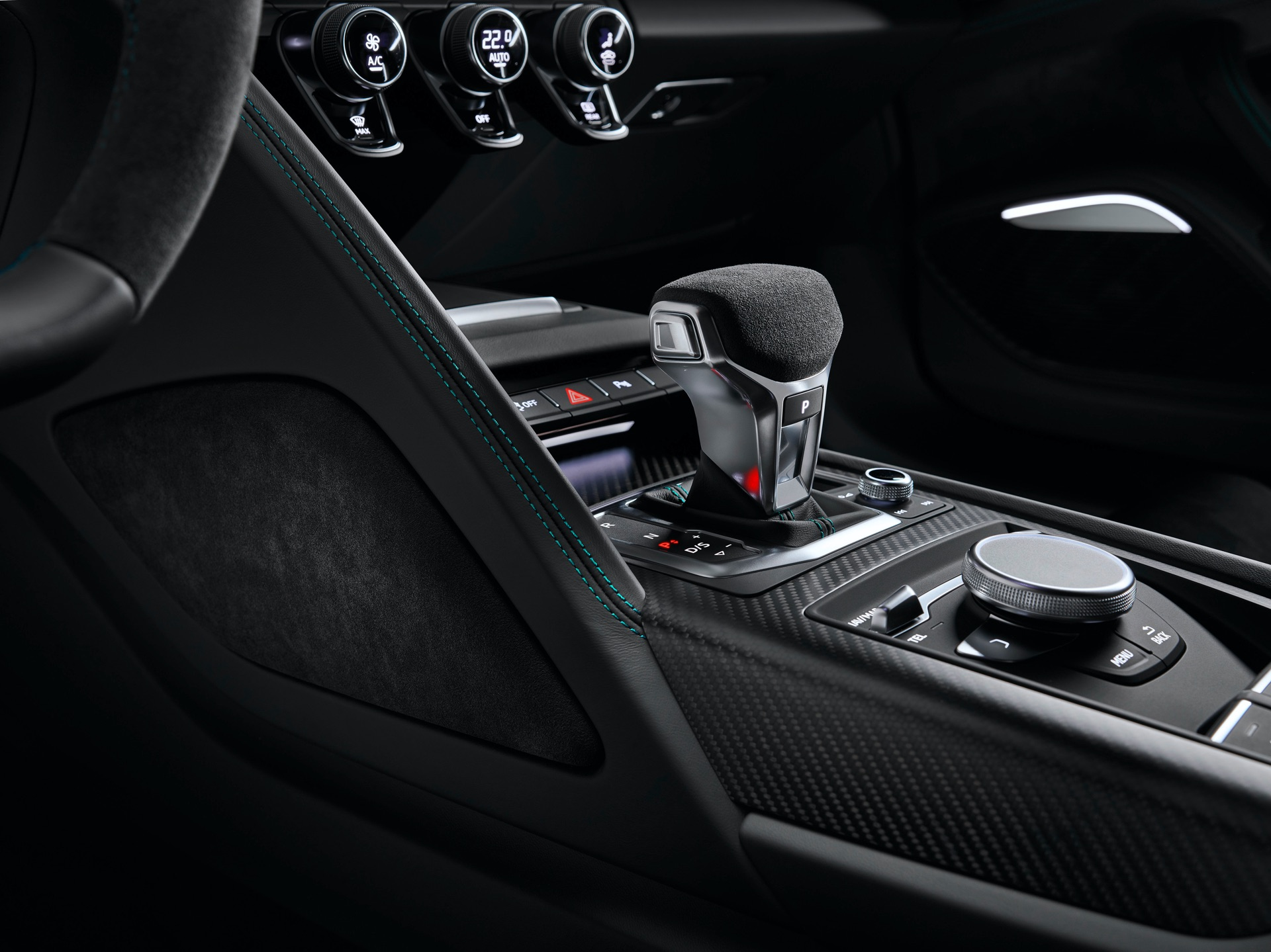 Audi R8 Green Hell Gear Shift