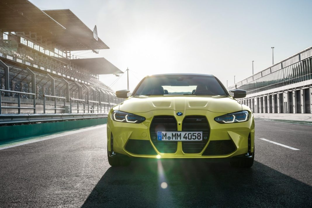 Leaked BMW M4 Front