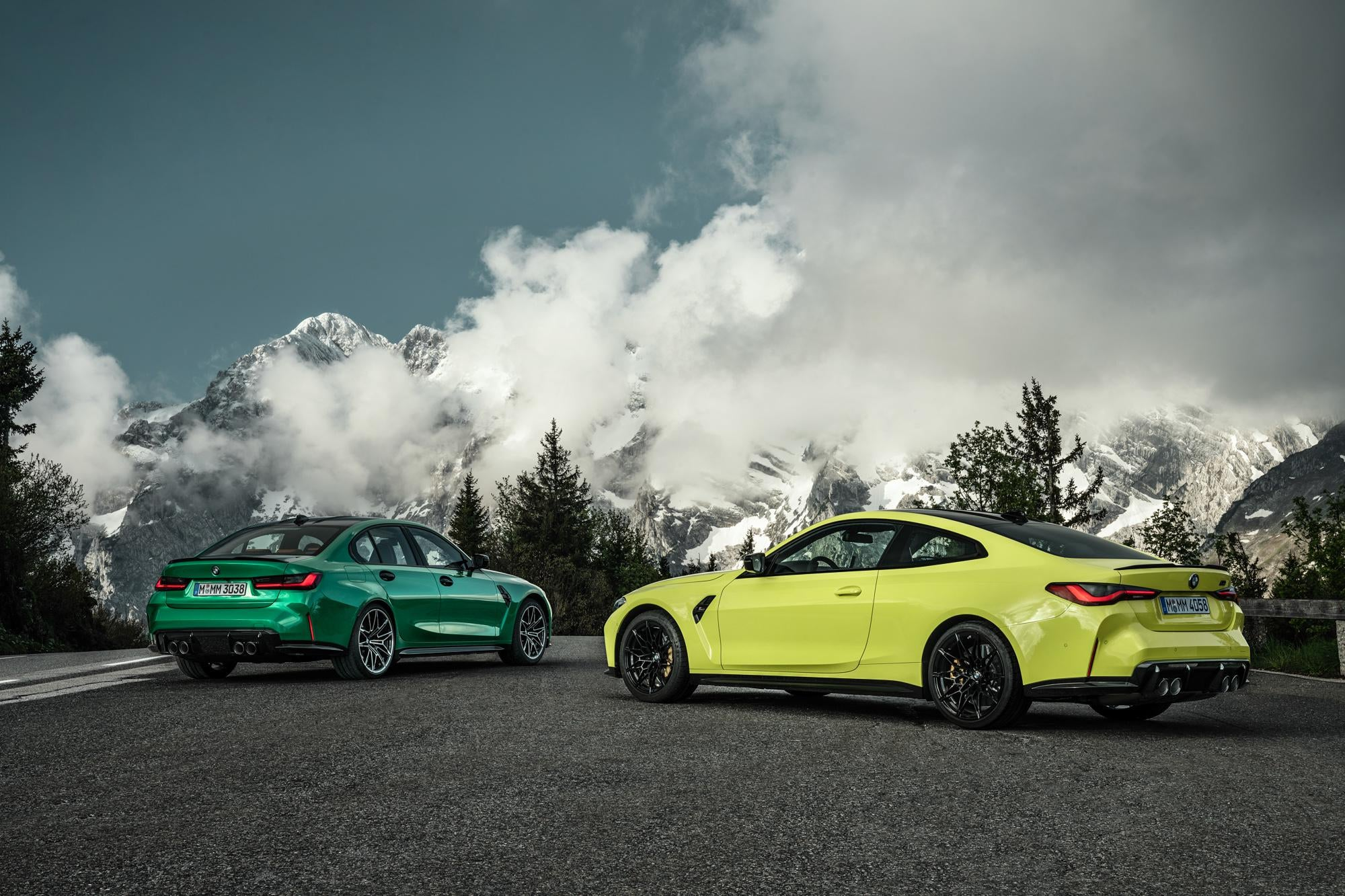 Leaked BMW M3 and BMW M4