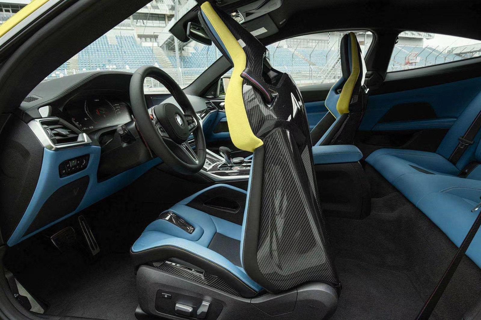 Leaked BMW M4 Interior