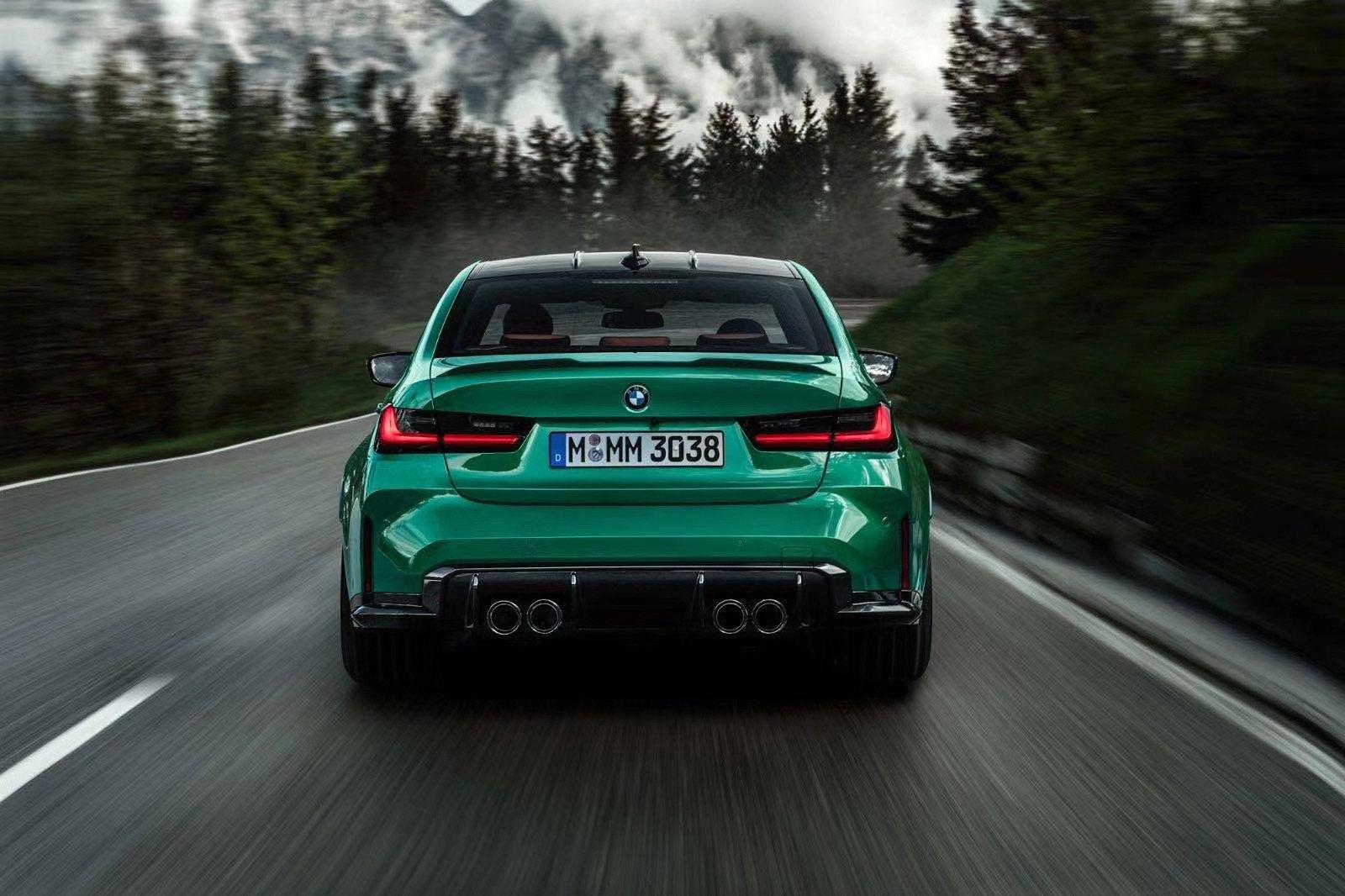 Leaked BMW M3 Rear