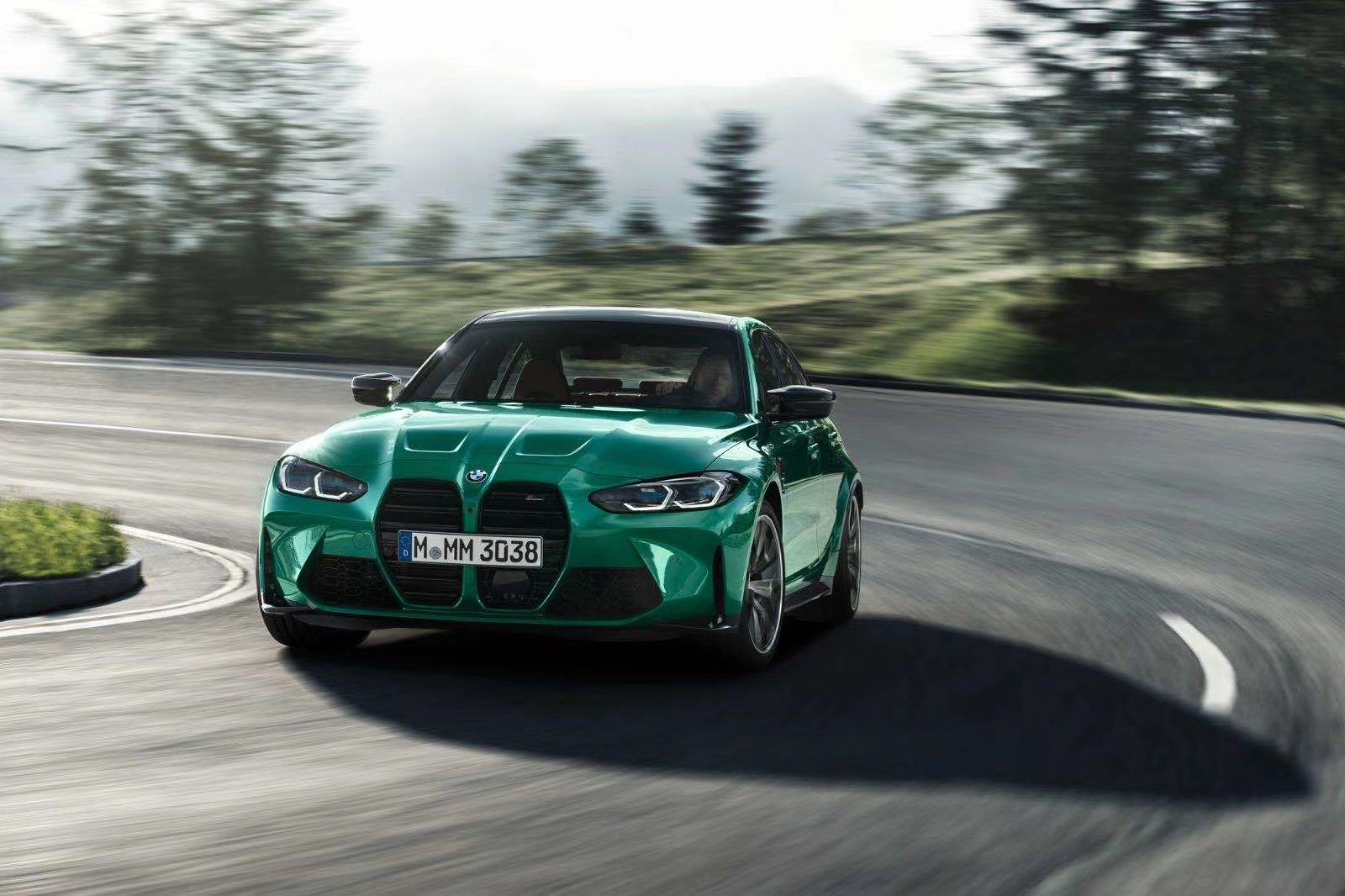 Leaked BMW M3 Front
