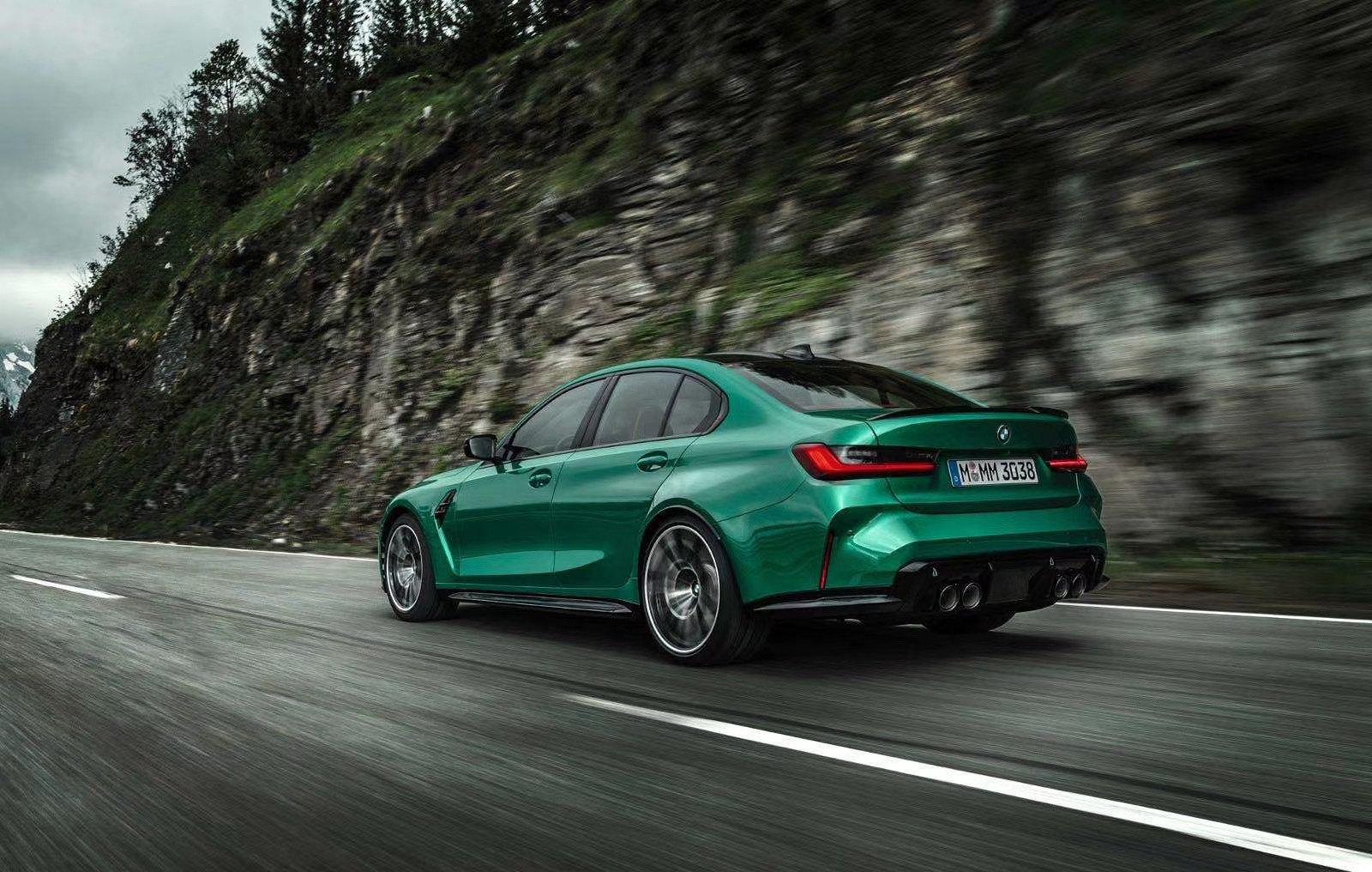 Leaked BMW M3 Rear Quarter
