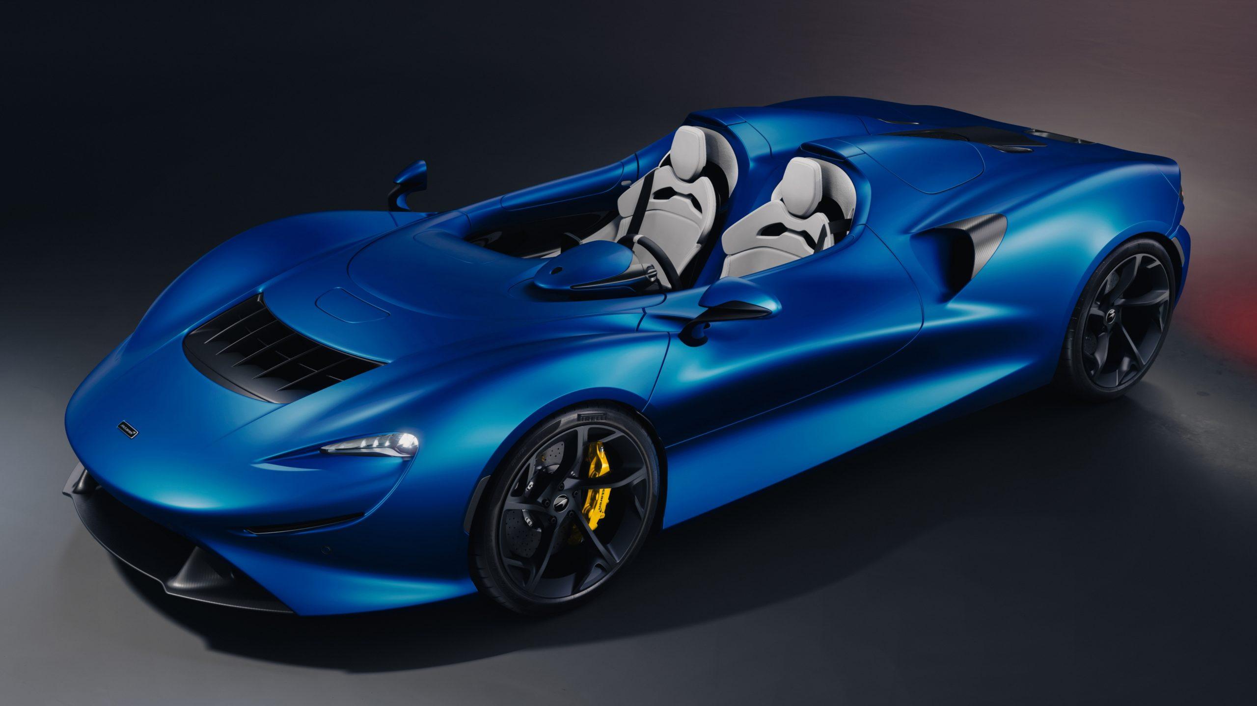 Blue McLaren Elva