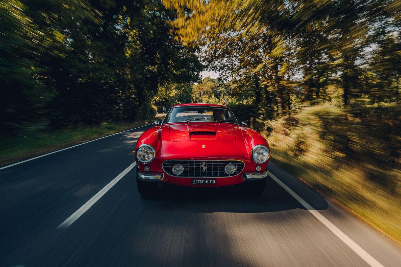 Ferrari 250 SWB Revival front