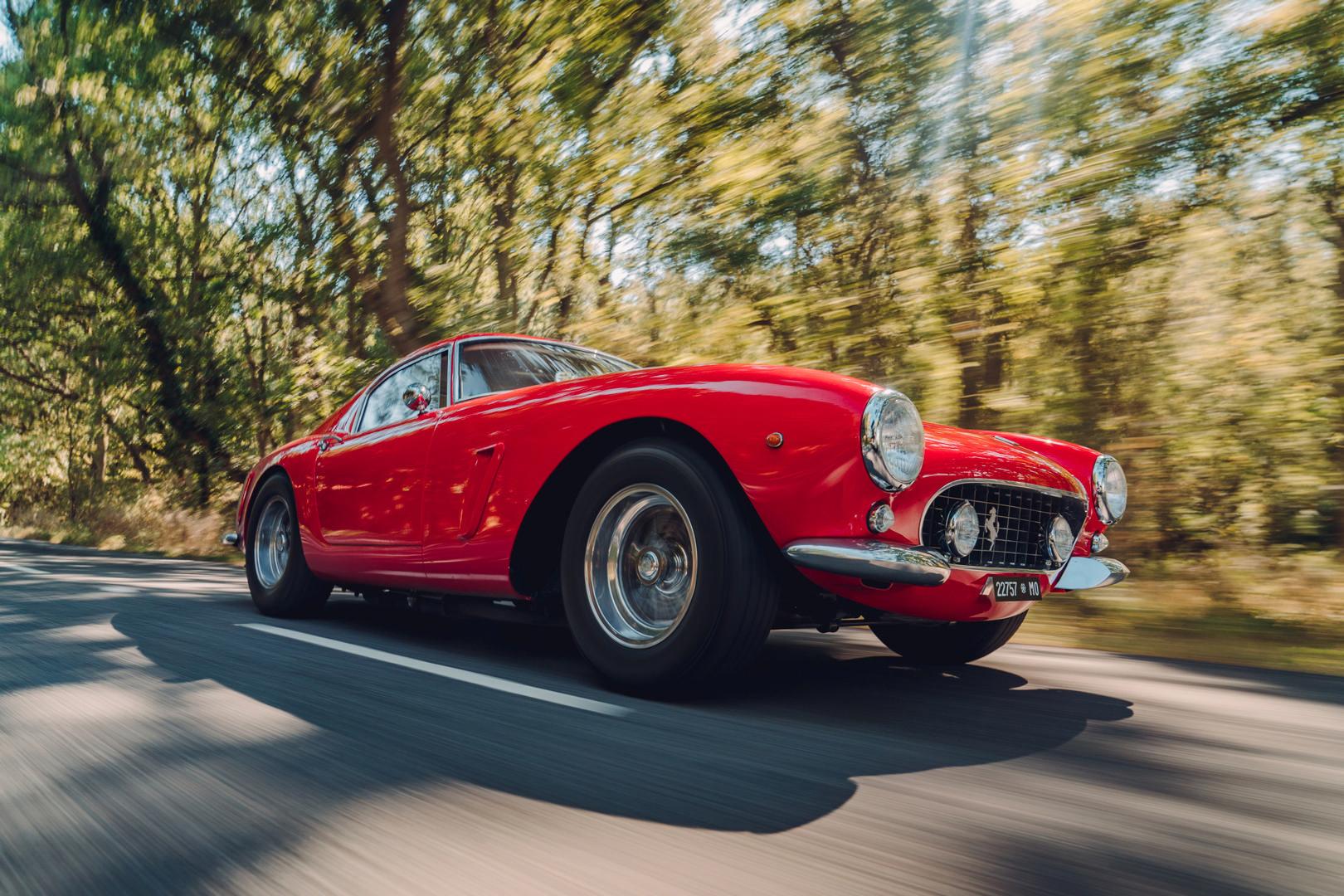 Red Ferrari 250 SWB Revival